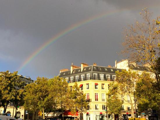 Arc en ciel à Paris - Rainbow in Paris