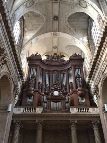 Orgue du XIXe s. - Eglise Saint Sulpice - Paris