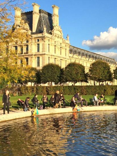 Jardin des Tuileries - Louvre - Paris