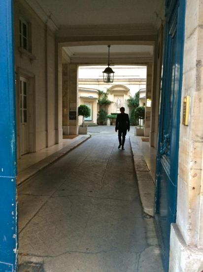 Entrée d'immeuble - rue du Faubourg Saint Honoré
