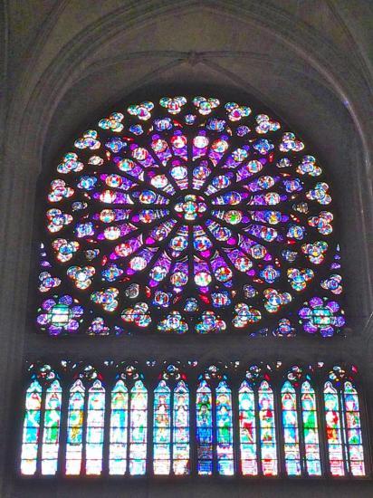 Notre Dame de Paris - Rosace