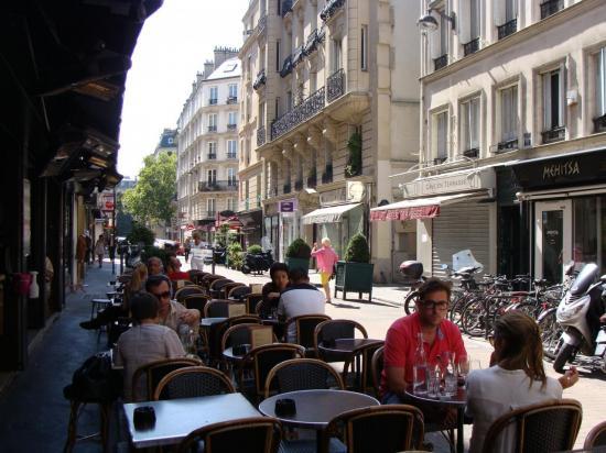 Paris 17e - café
