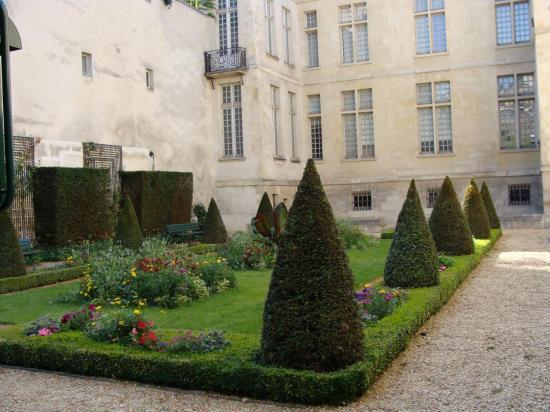 Paris 3e - Jardin à la Française - Cognacq-Jay