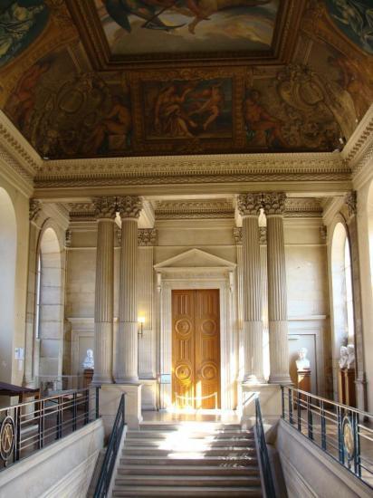Paris 3e - Palais de Soubise - Escalier