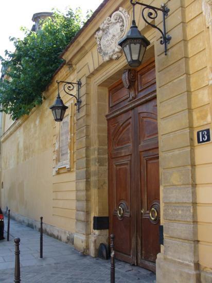 Paris 3e - porte cochère