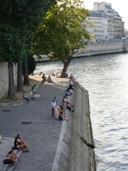 Paris 4e- Ile Saint Louis - quais de la Seine