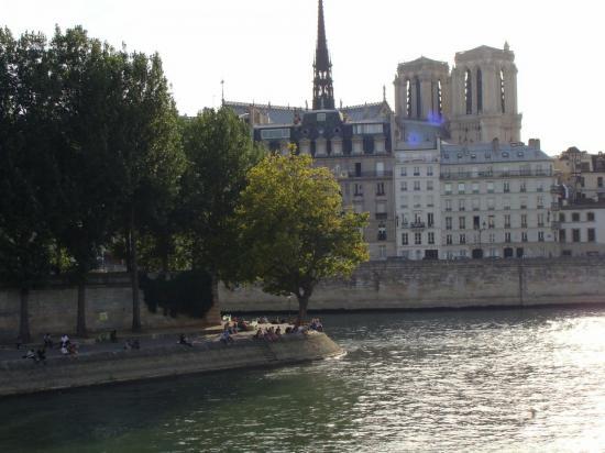 Paris 4e - quai de la Seine