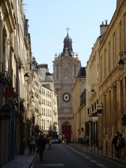 Paris 4e - rue de Sévigné - Marais