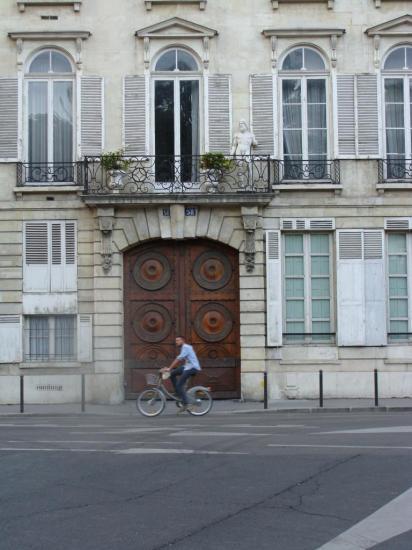 Paris 6e - porte cochère