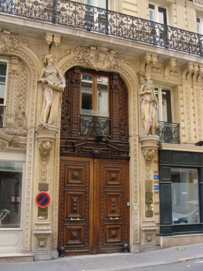 Paris 8e - porte cochère'