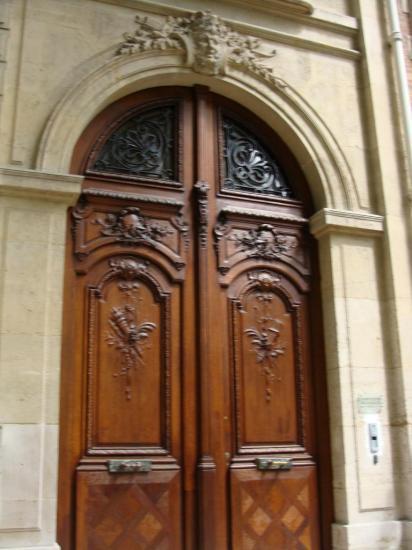 Paris 8e - porte cochère