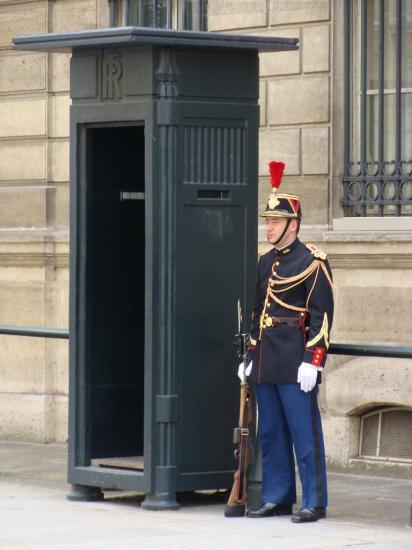 Paris - garde