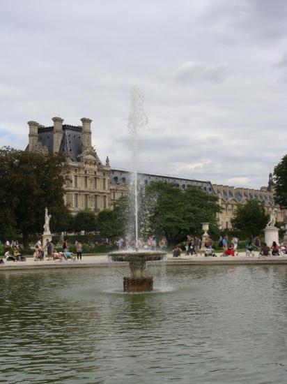 Paris - Jardin des Tuileries - Louvre 5