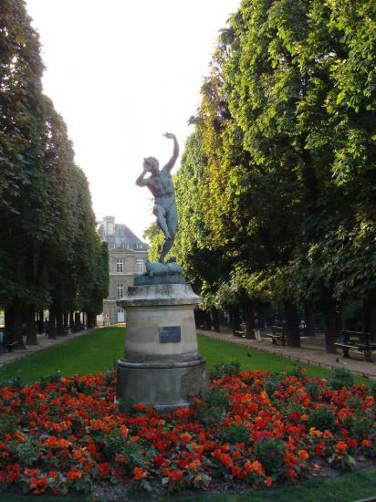 Paris - Jardin du Luxembourg - Acteur grec