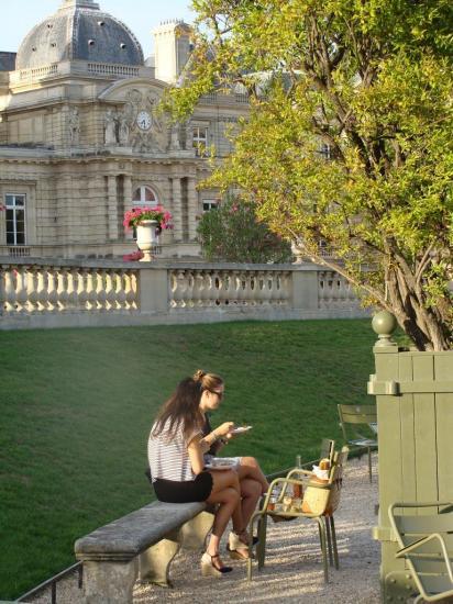 Paris - Jardin du Luxembourg - Pic nic