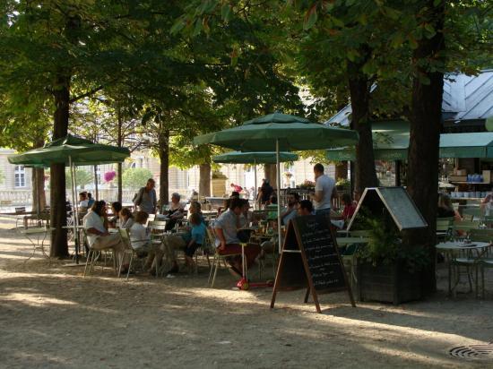 Paris - Jardin du Luxembourg - restaurant