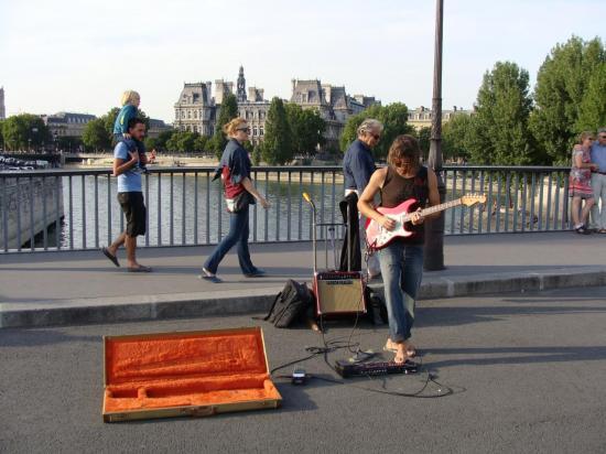 Paris - musicien