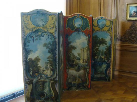 Paris - Paravent XVIIIe s