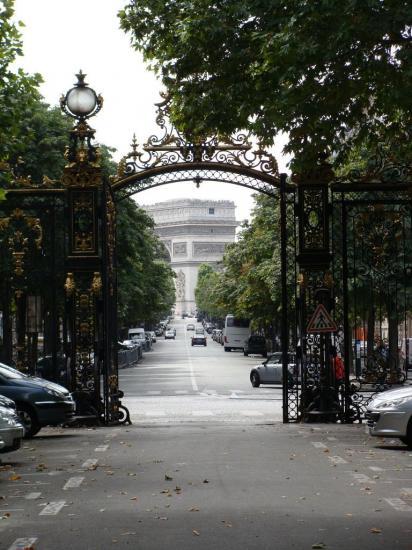Paris - Parc Monceau - Entrée 2