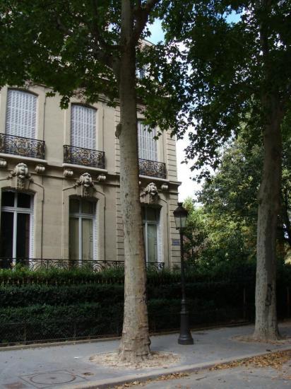 Paris - Parc Monceau - Entrée