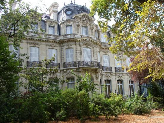 Paris - Parc Monceau - Hôtel Particulier