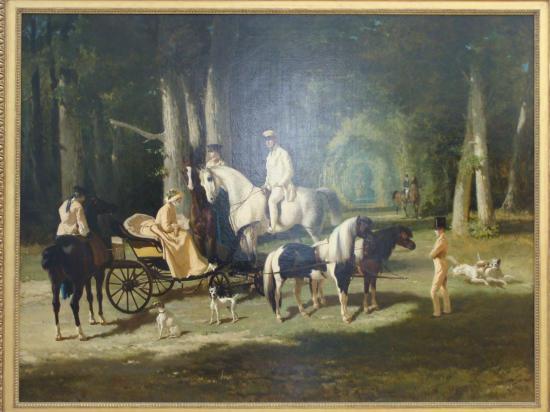 Paris - peinture parc