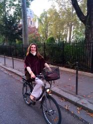 Paris by bicycle
